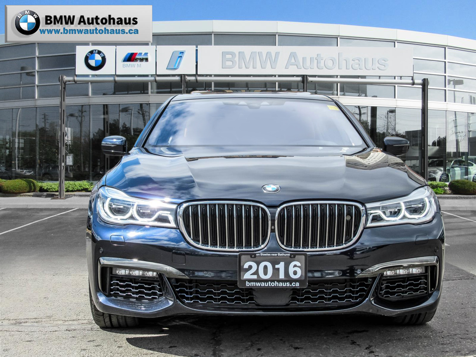 Used 2016 BMW 750i in Thornhill,ON