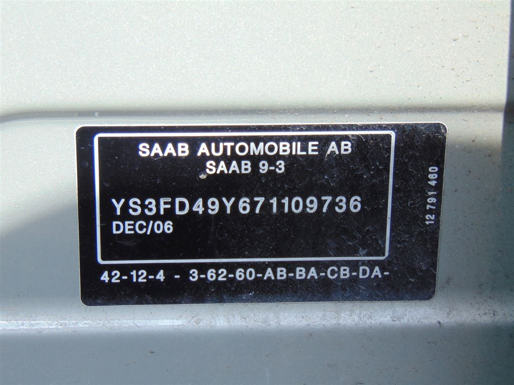 Used 2007 Saab 9-3 in Windsor,ON
