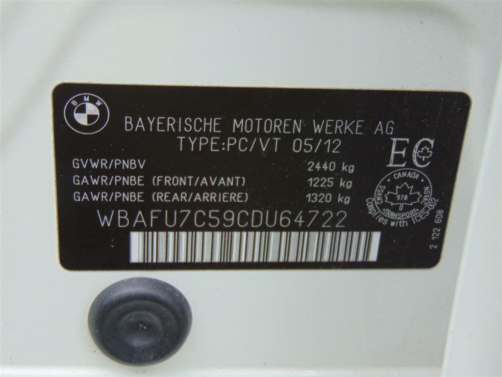 Used 2012 BMW 535i xDrive in Windsor,ON