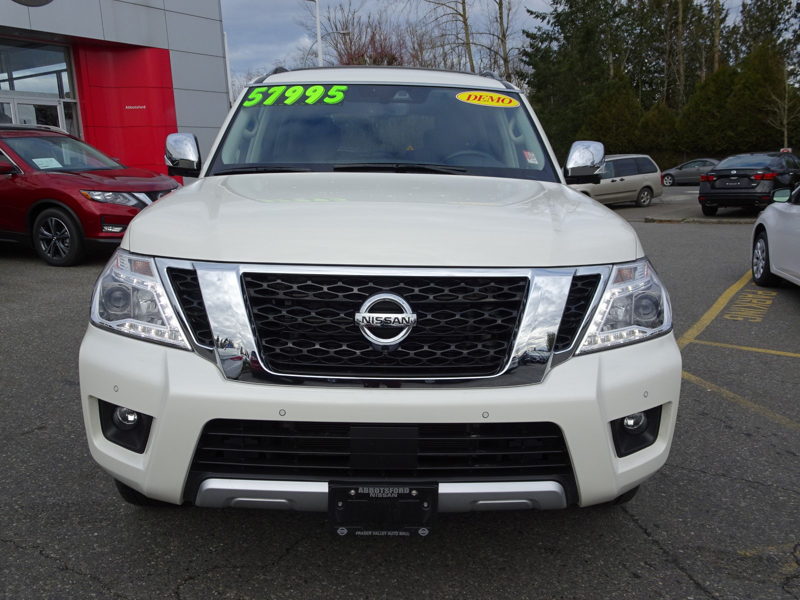 Used 2018 Nissan Armada in Abbotsford,BC