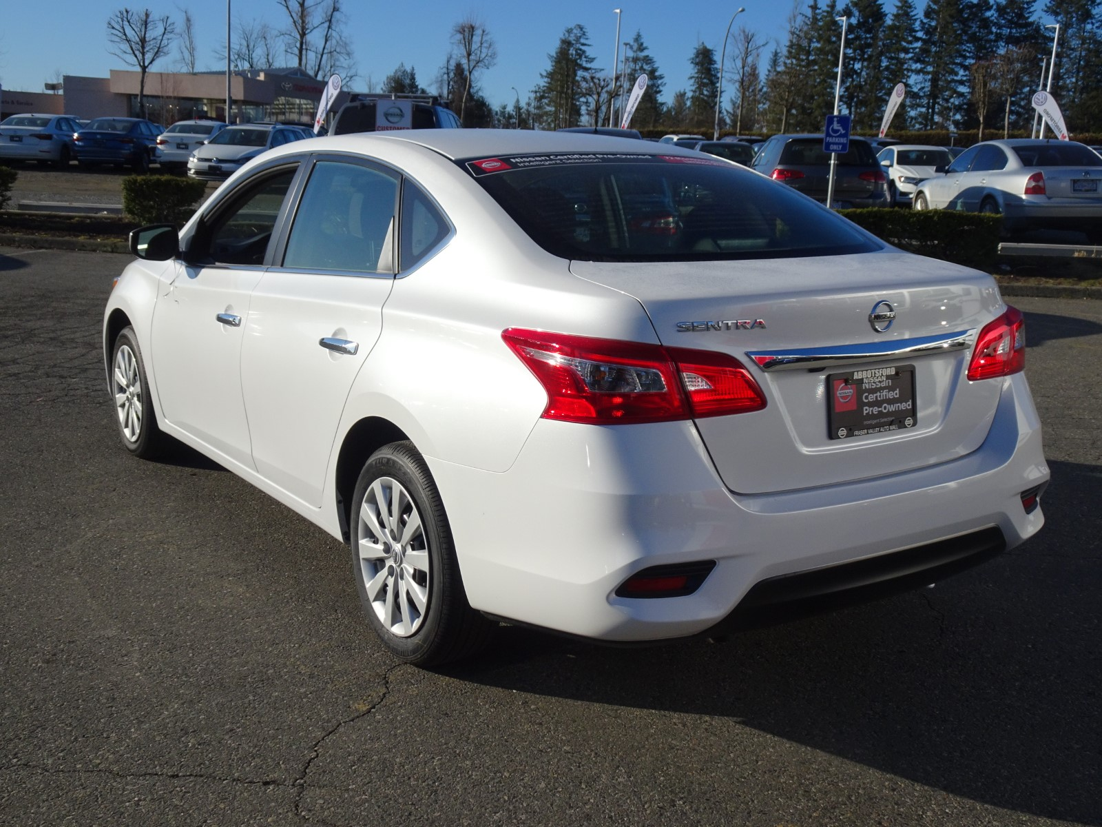 Used 2019 Nissan Sentra in Abbotsford,BC