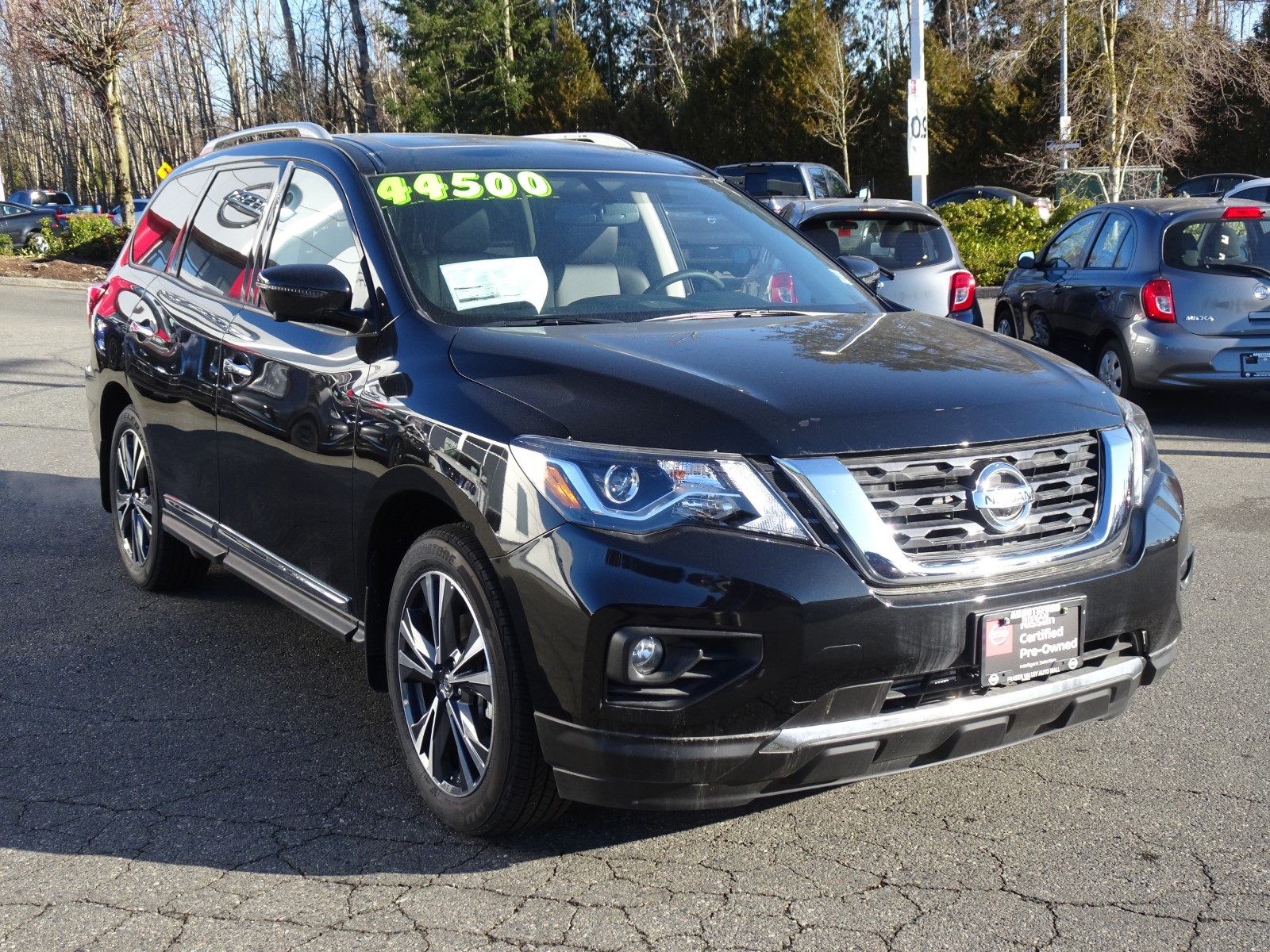 Used 2018 Nissan Pathfinder in Abbotsford,BC