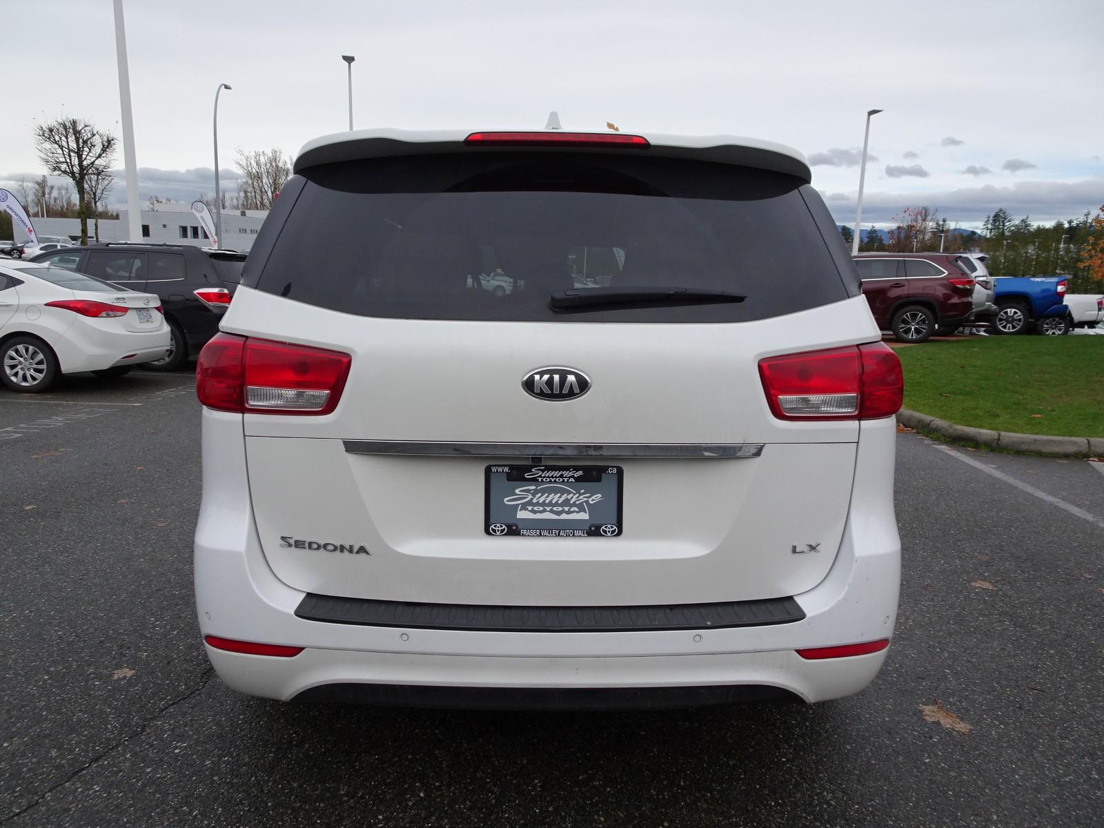 Used 2018 Kia Sedona in Abbotsford,BC