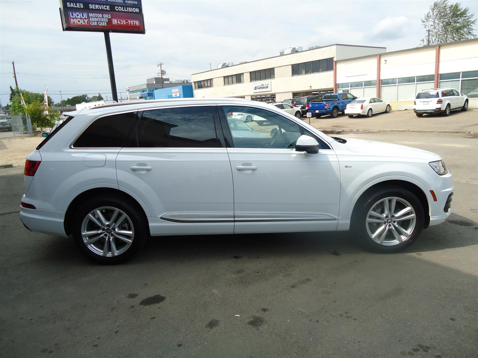 Used 2017 Audi Q7 in Edmonton,AB