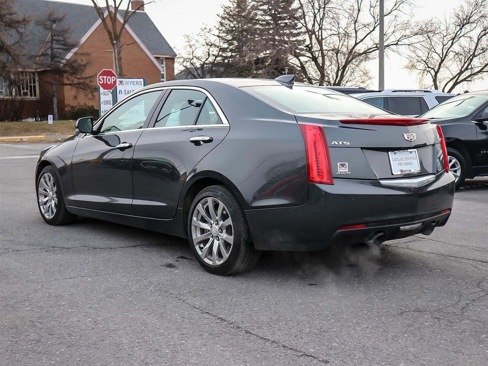 Used 2018 Cadillac ATS in Ottawa,ON