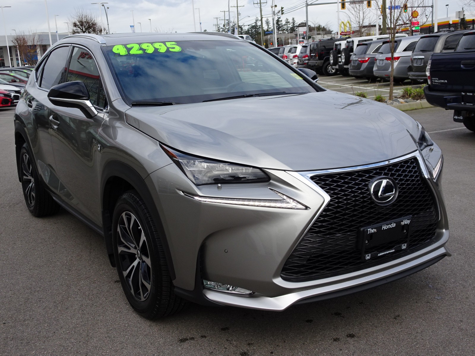 Used 2017 Lexus NX200t in Abbotsford,BC