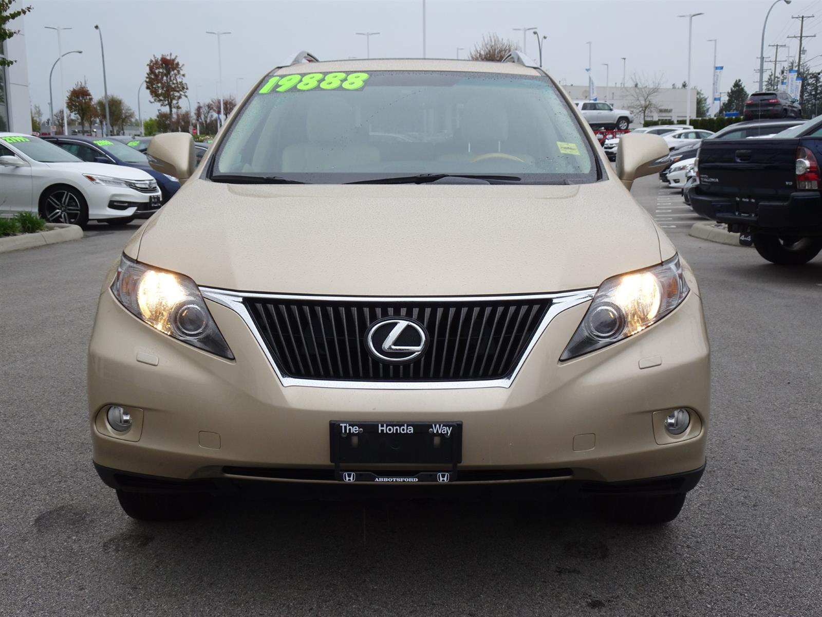 Used 2010 Lexus RX350 in Abbotsford,BC