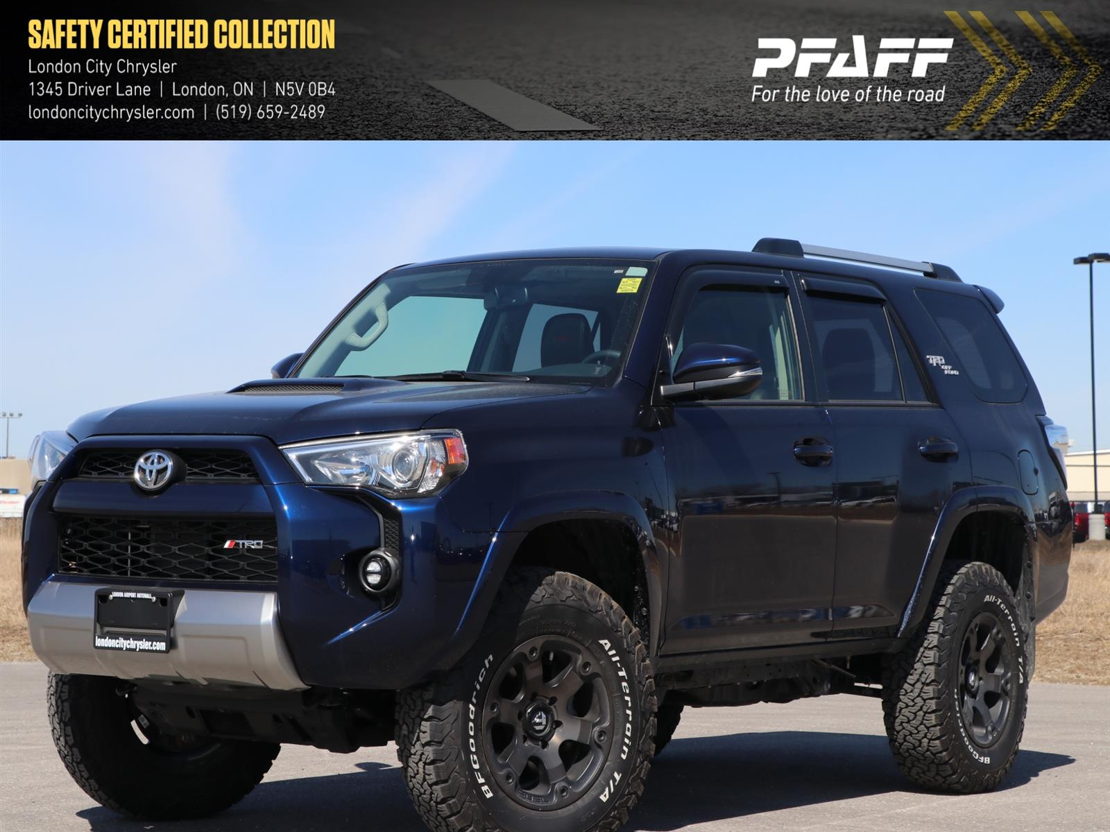 Used 2018 Toyota 4Runner in London,ON
