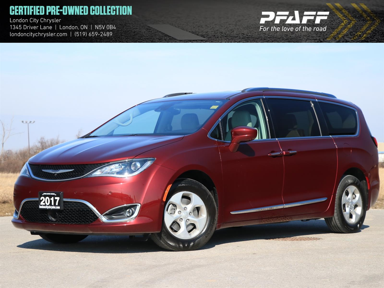 Used 2017 Chrysler Pacifica in London,ON