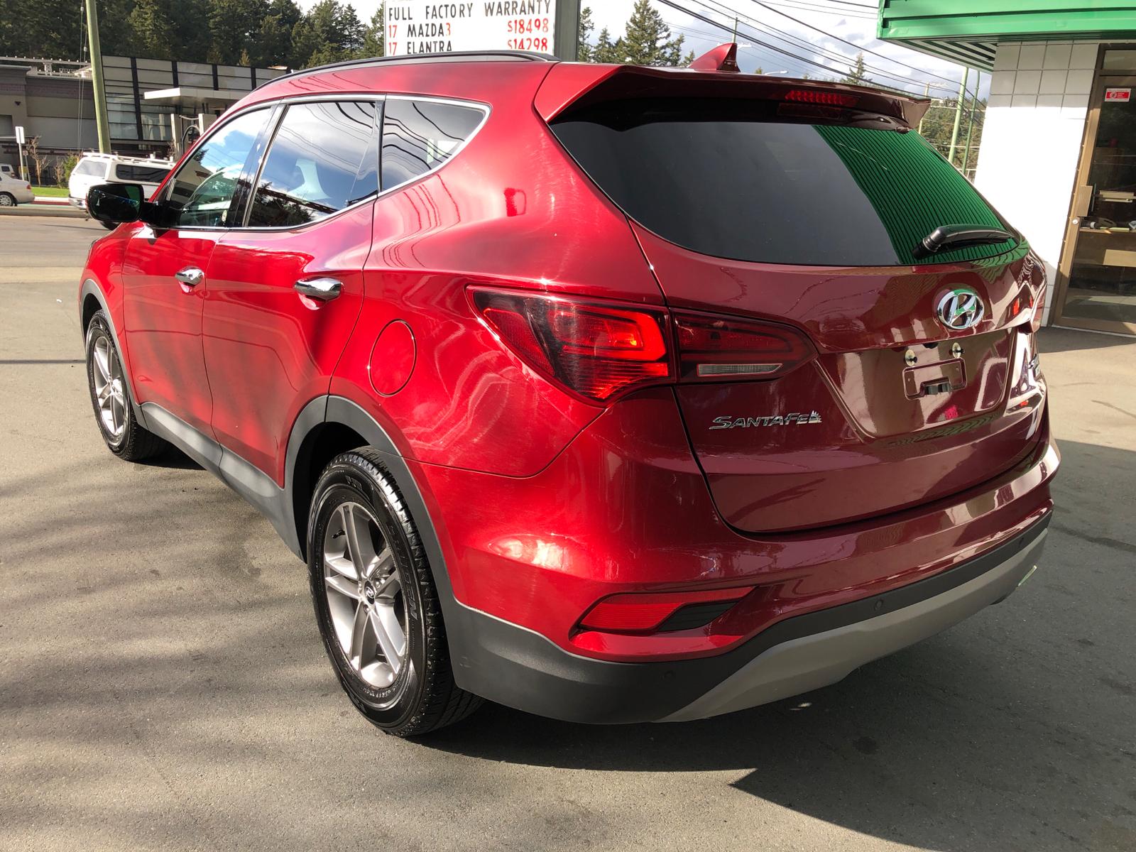 Used 2018 Hyundai Santa Fe in Victoria,BC