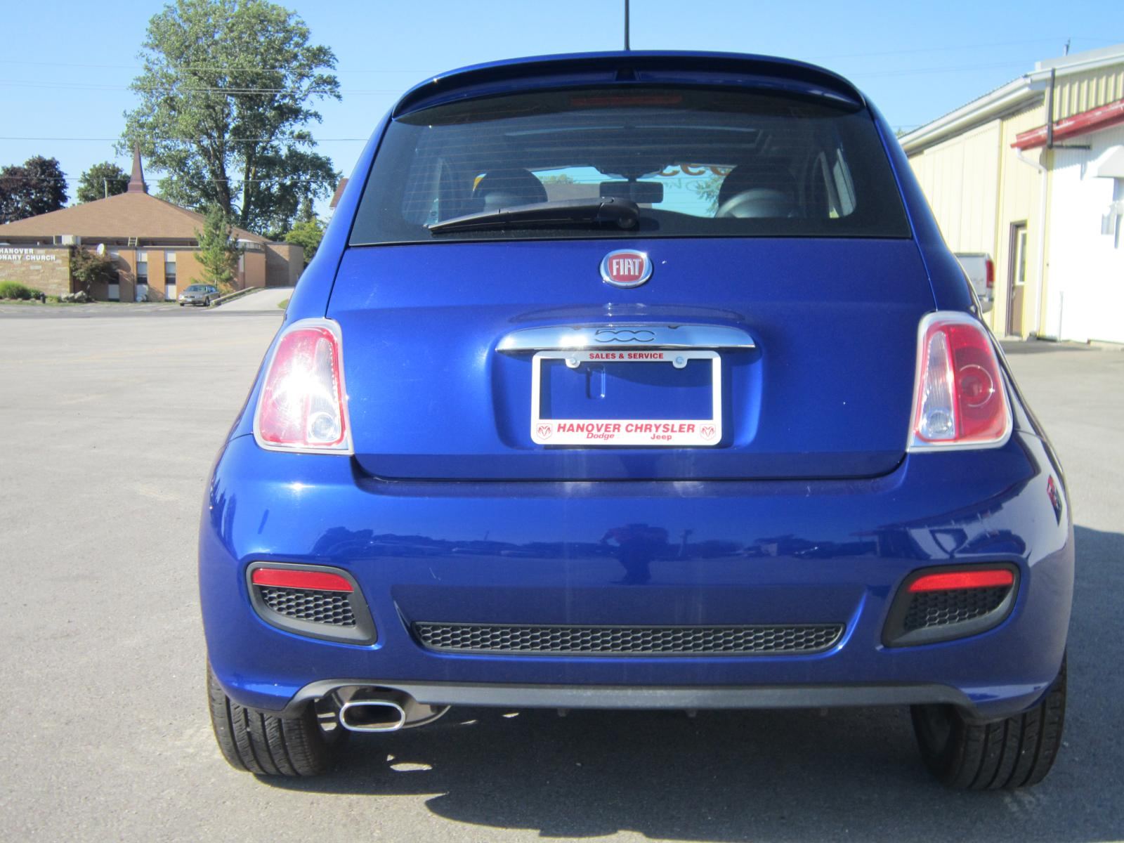 Used 2012 Fiat 500 in Hanover,ON