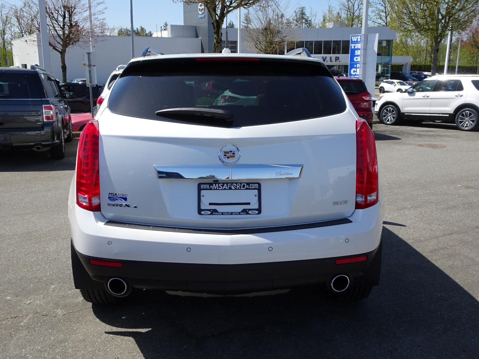 Used 2012 Cadillac SRX in Abbotsford,BC