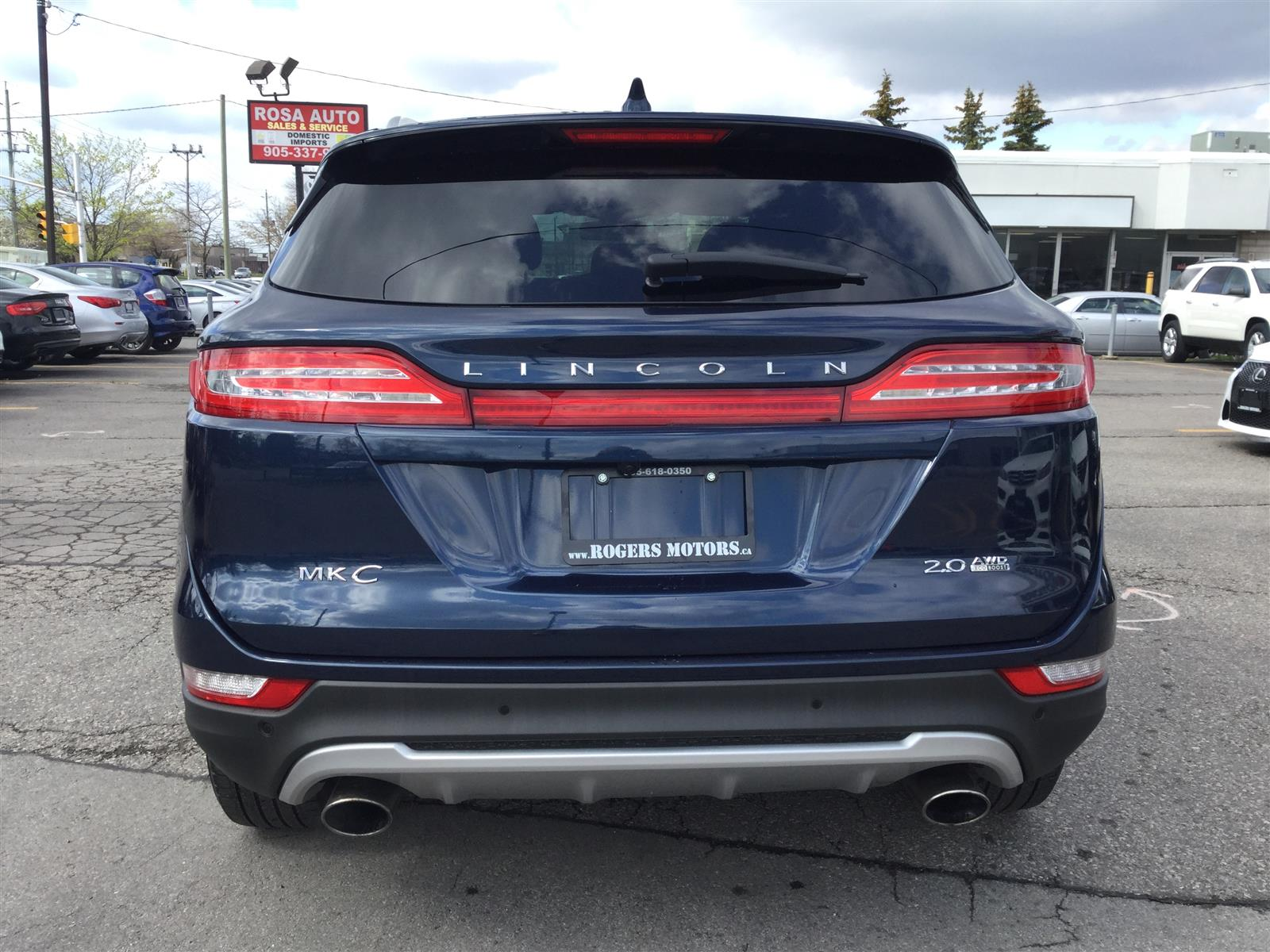 Used 2016 Lincoln MKC in Oakville,ON