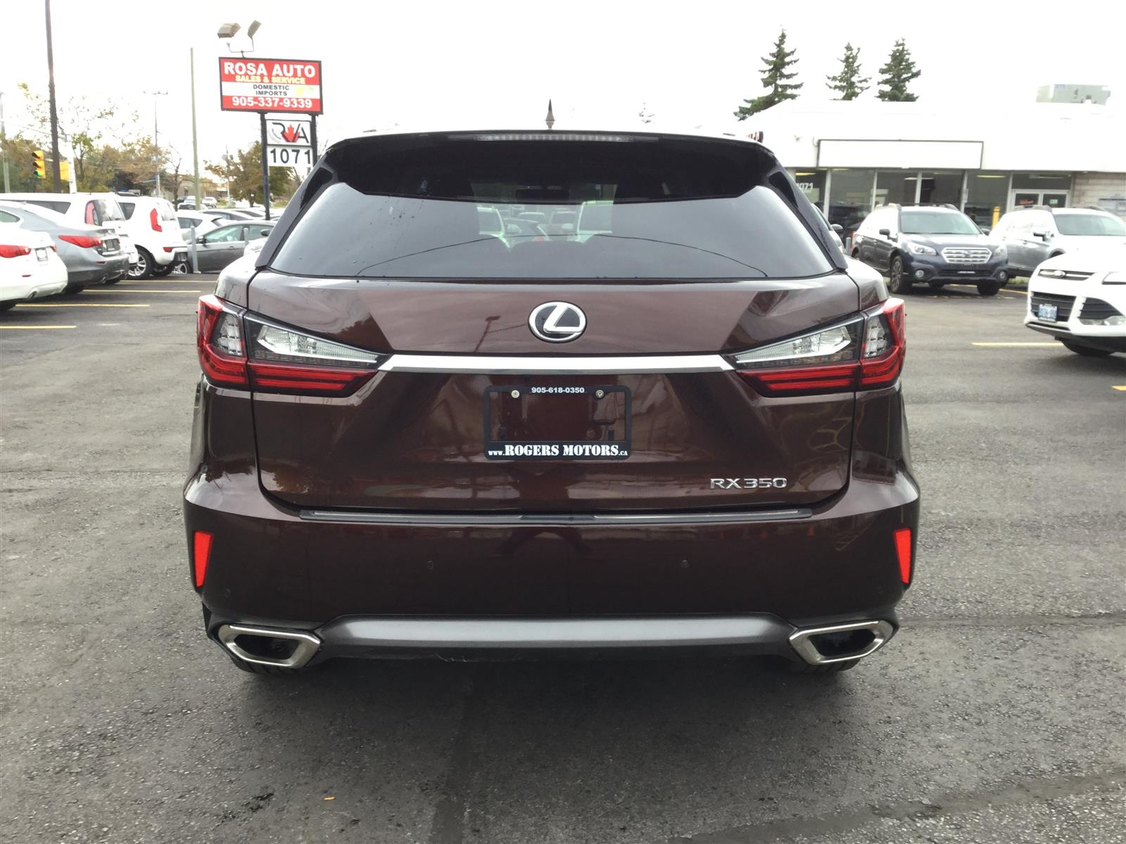 Used 2016 Lexus RX350 in Oakville,ON