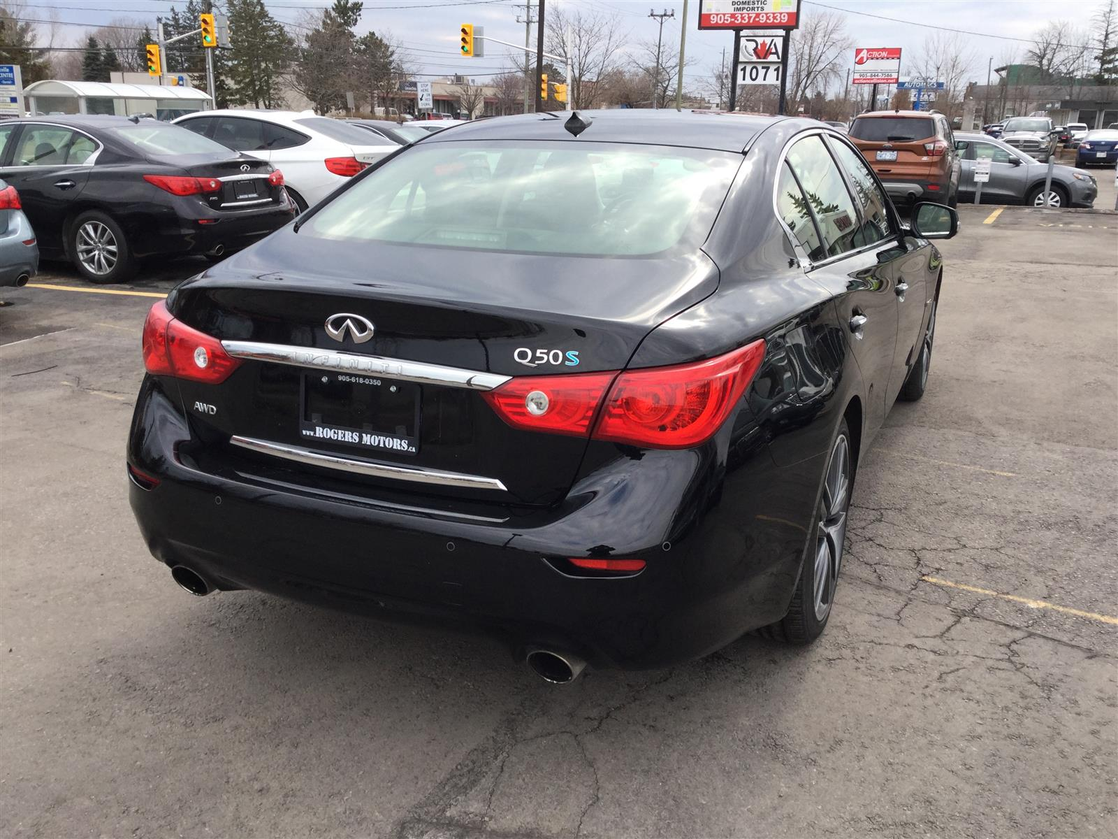 Used 2015 Infiniti Q50 in Oakville,ON