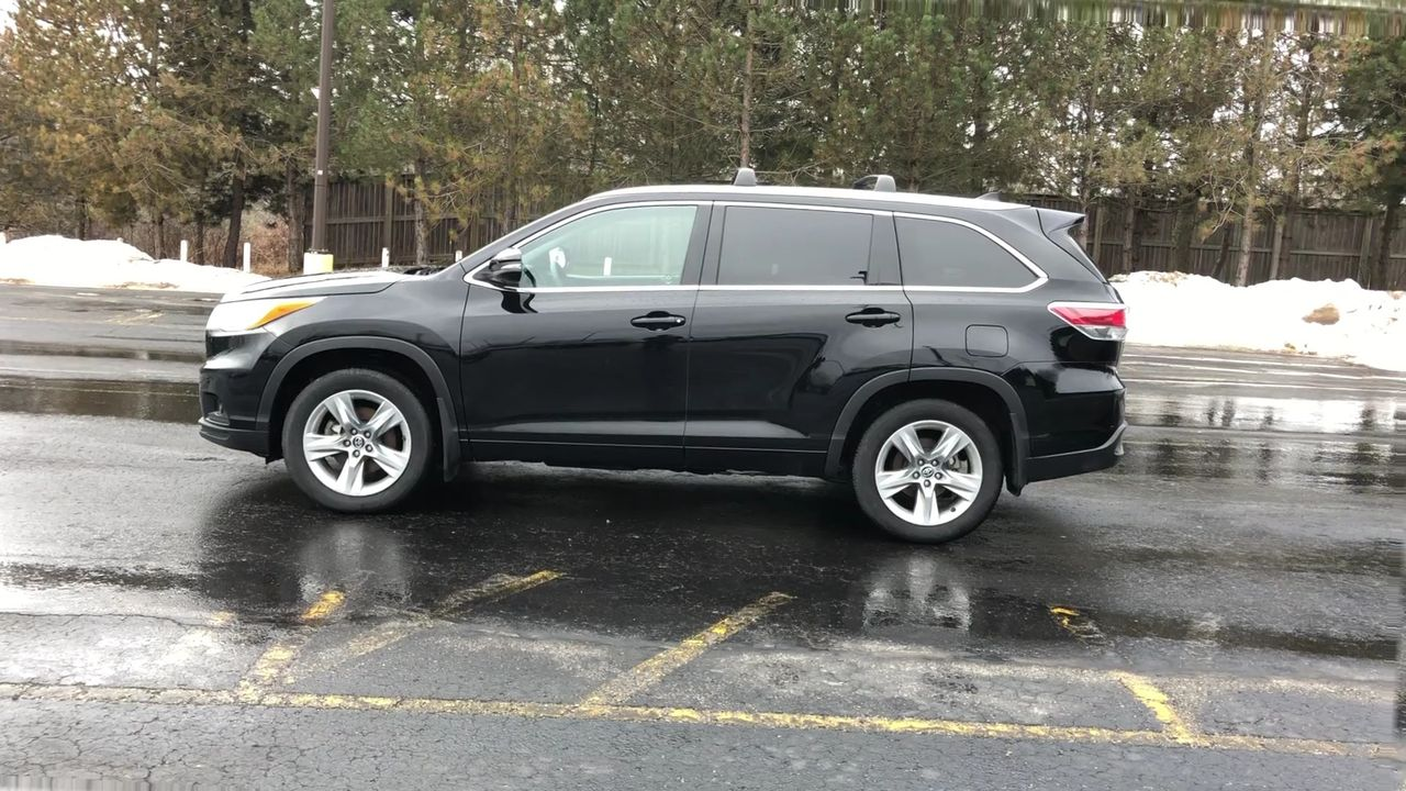 Used 2016 Toyota HIGHLANDER LIMITED AWD in Cayuga,ON