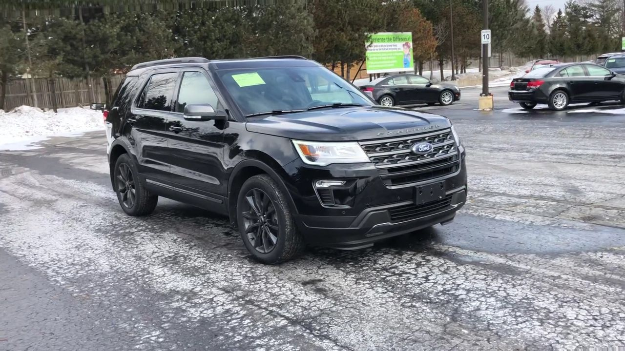 Used 2018 Ford EXPLORER XLT SPORT 4WD in Cayuga,ON