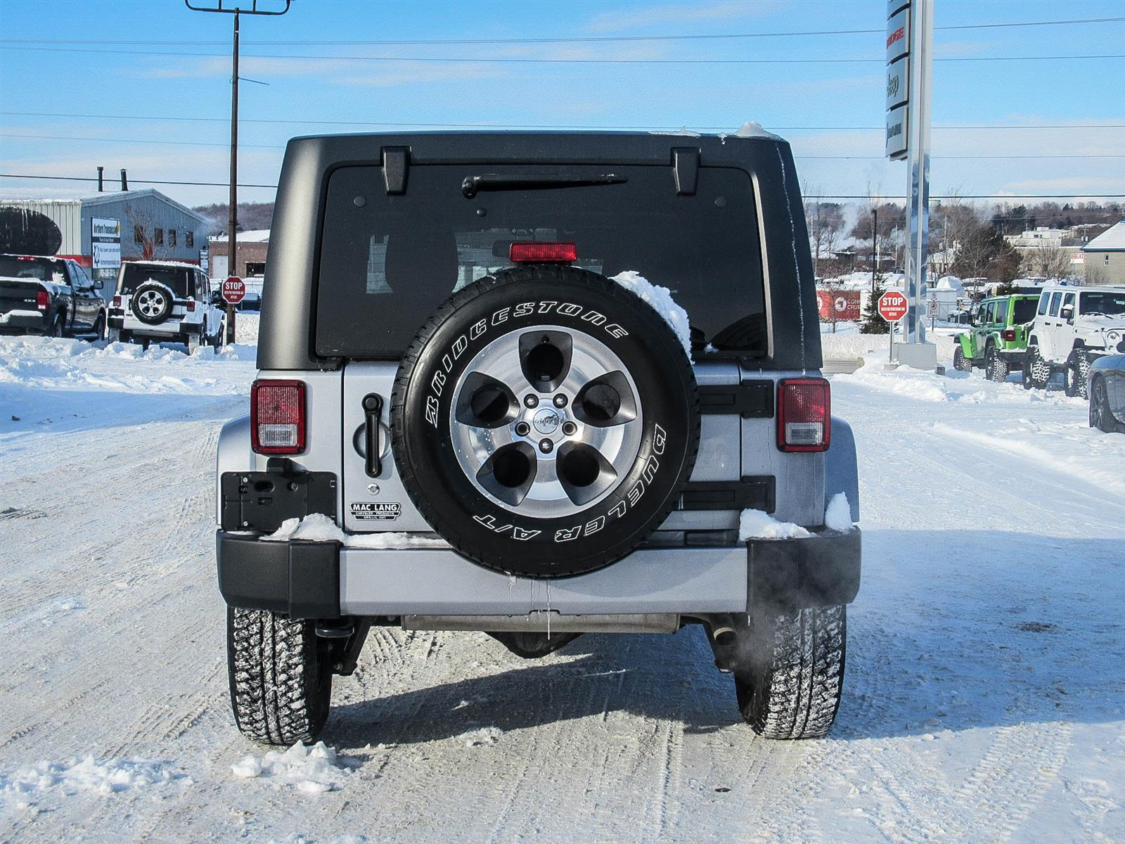 Used 2018 Jeep Wrangler in Orillia,ON