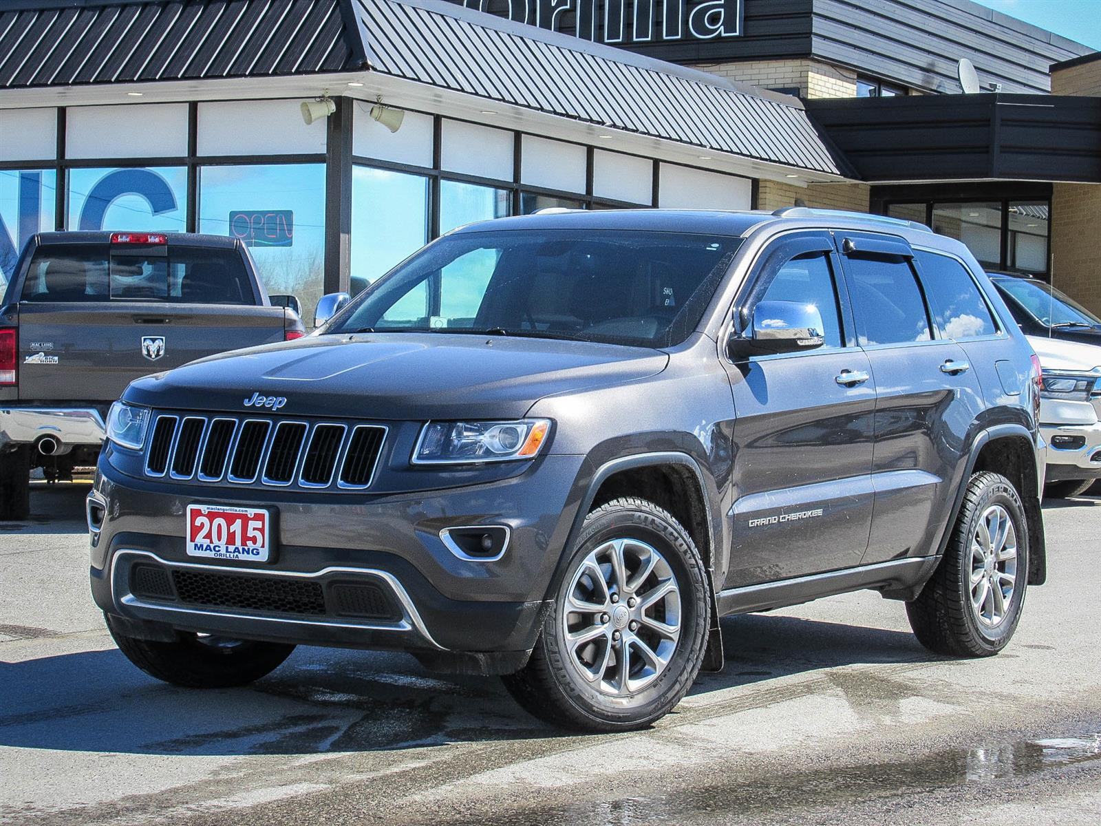 Used 2015 Jeep Grand Cherokee in Orillia,ON
