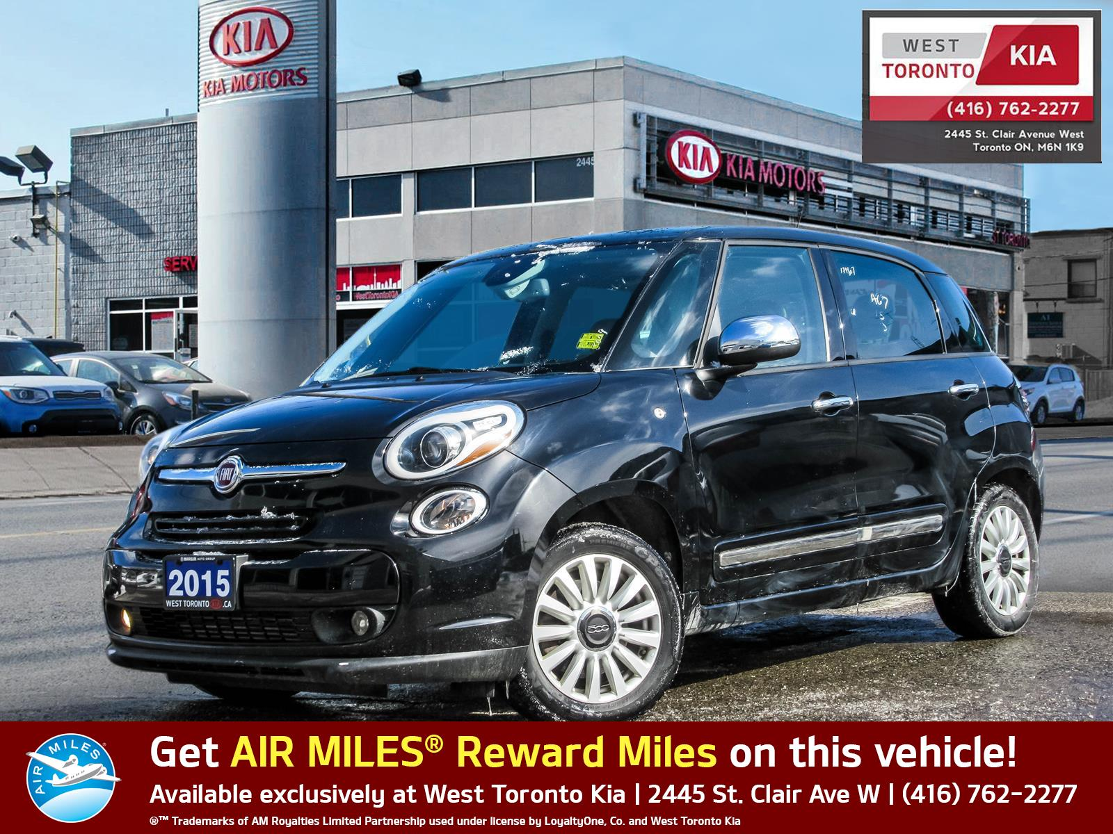 Used 2015 Fiat 500l in Toronto,ON
