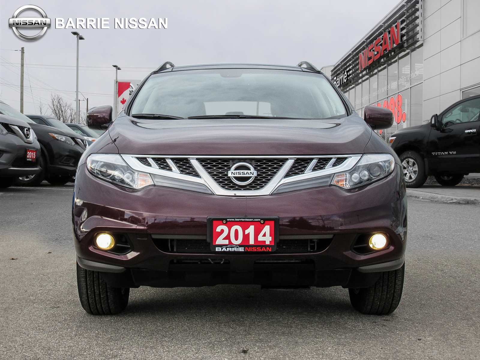 Used 2014 Nissan Murano in Barrie,ON