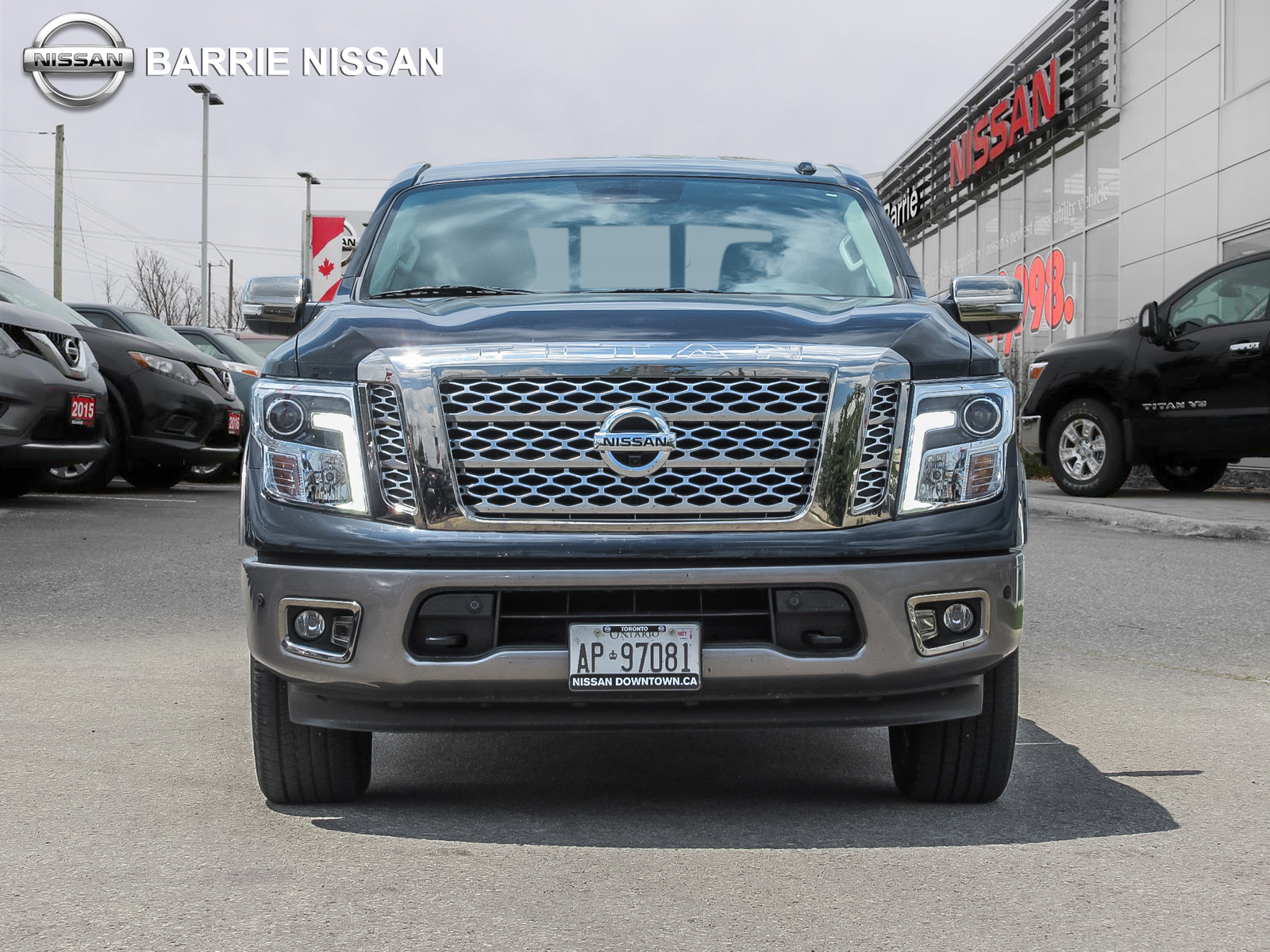 Used 2017 Nissan Titan in Barrie,ON
