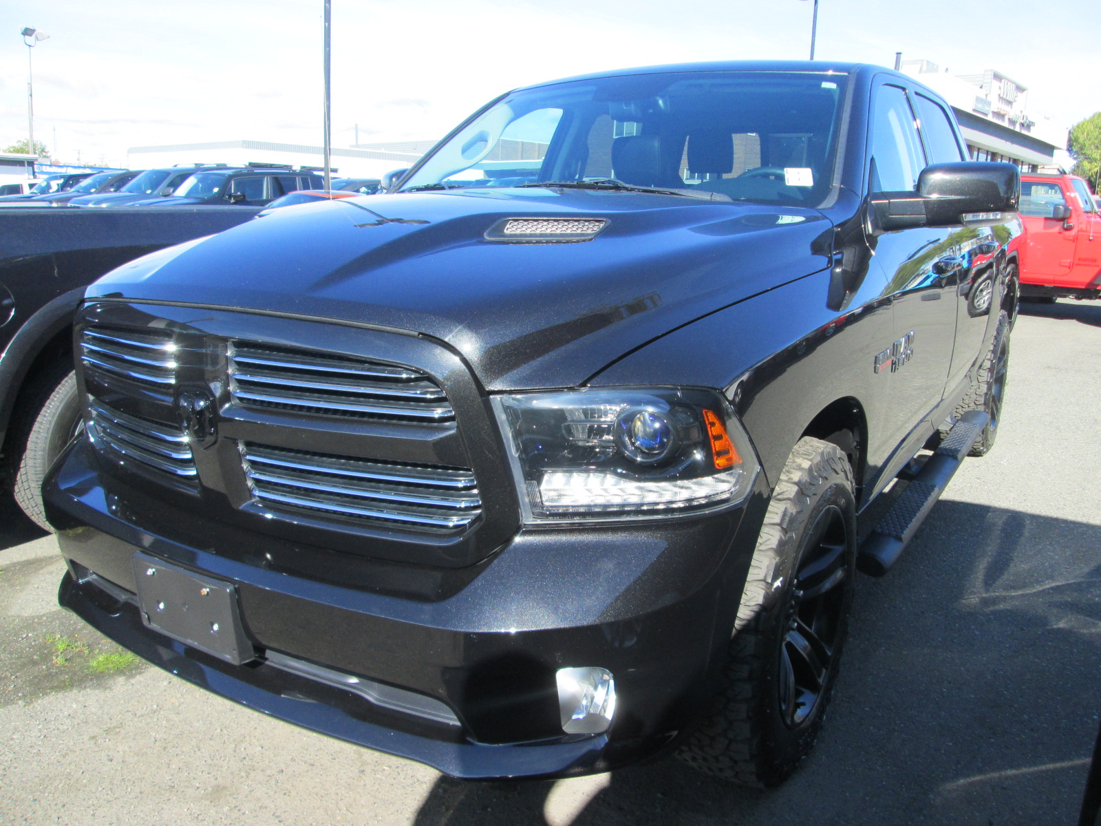 front ram dealers dodge quarter charger all three trucks