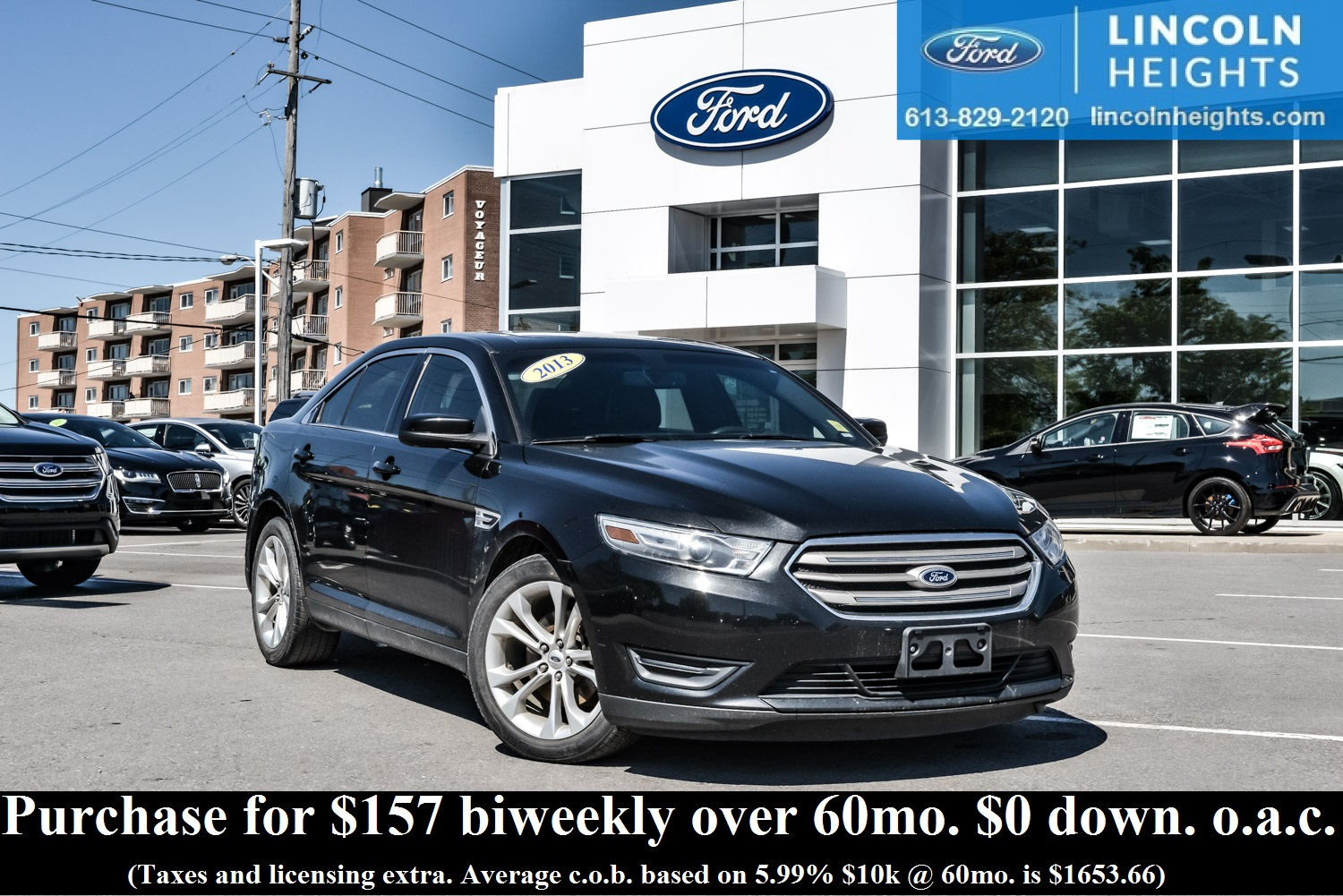 2013 pre owned ford taurus sel at lincoln heights ford
