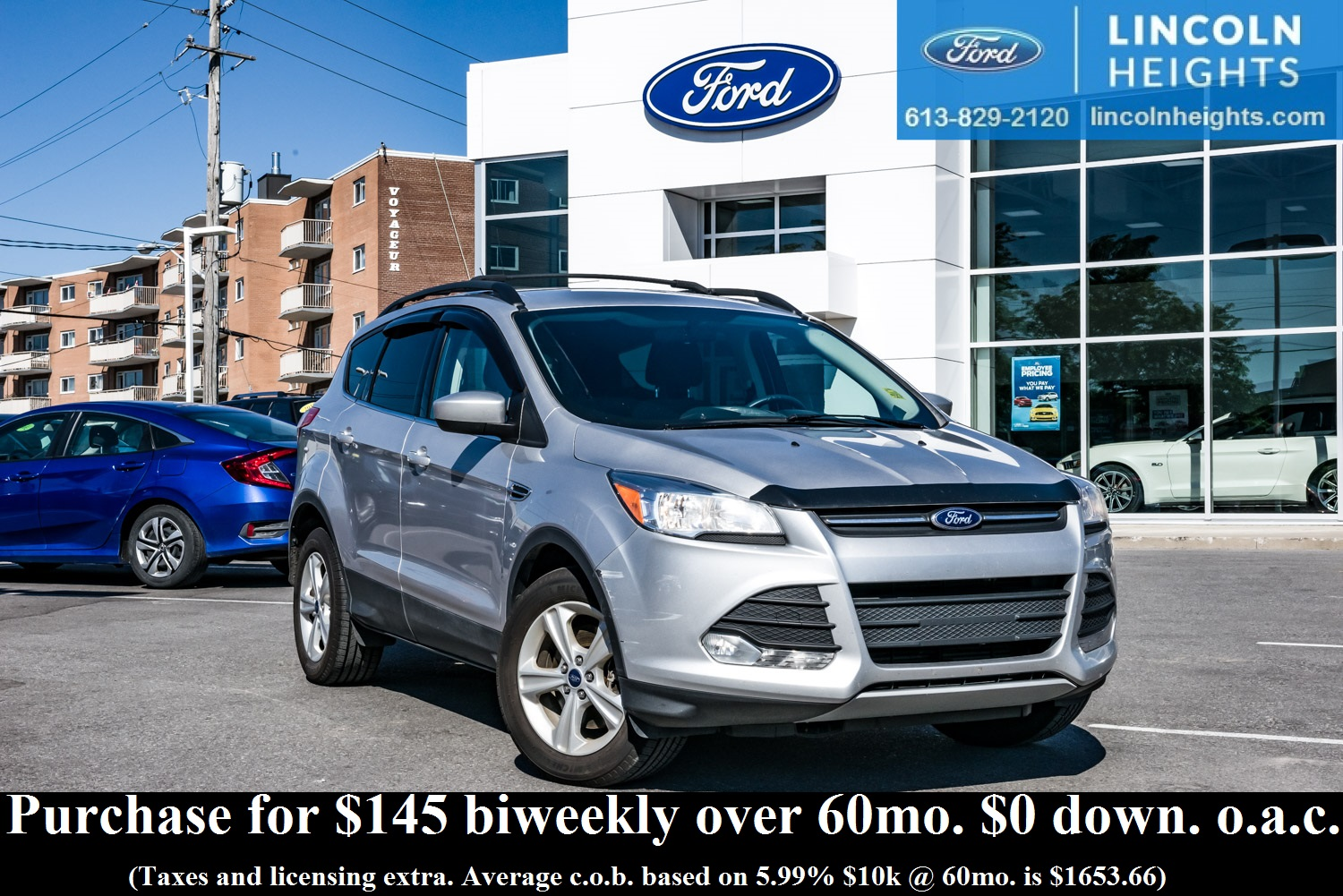 Pre owned 2013 ford escape at lincoln heights ford