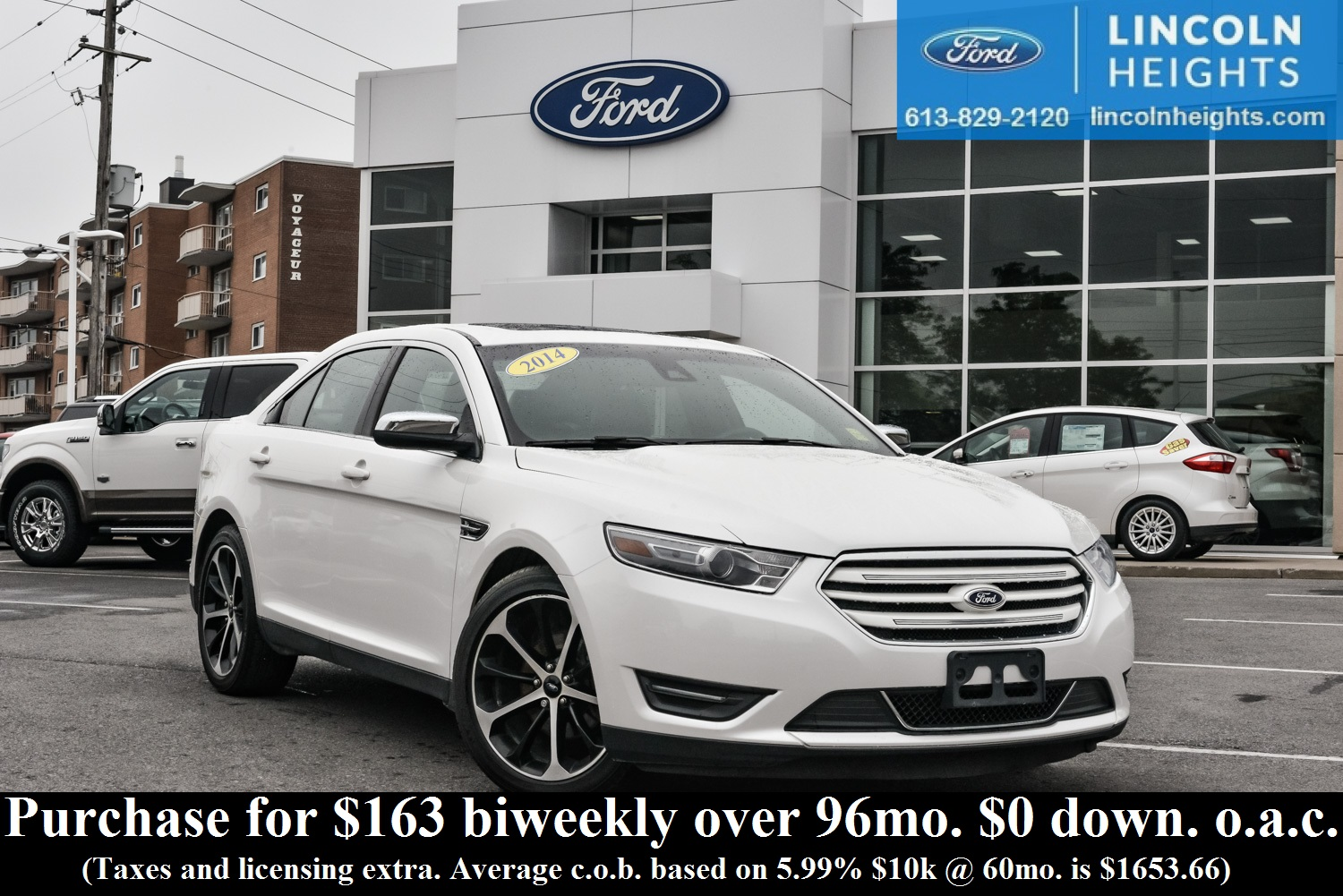 2014 ford taurus limited awd leather bluetooth pwr moonroof heated seats