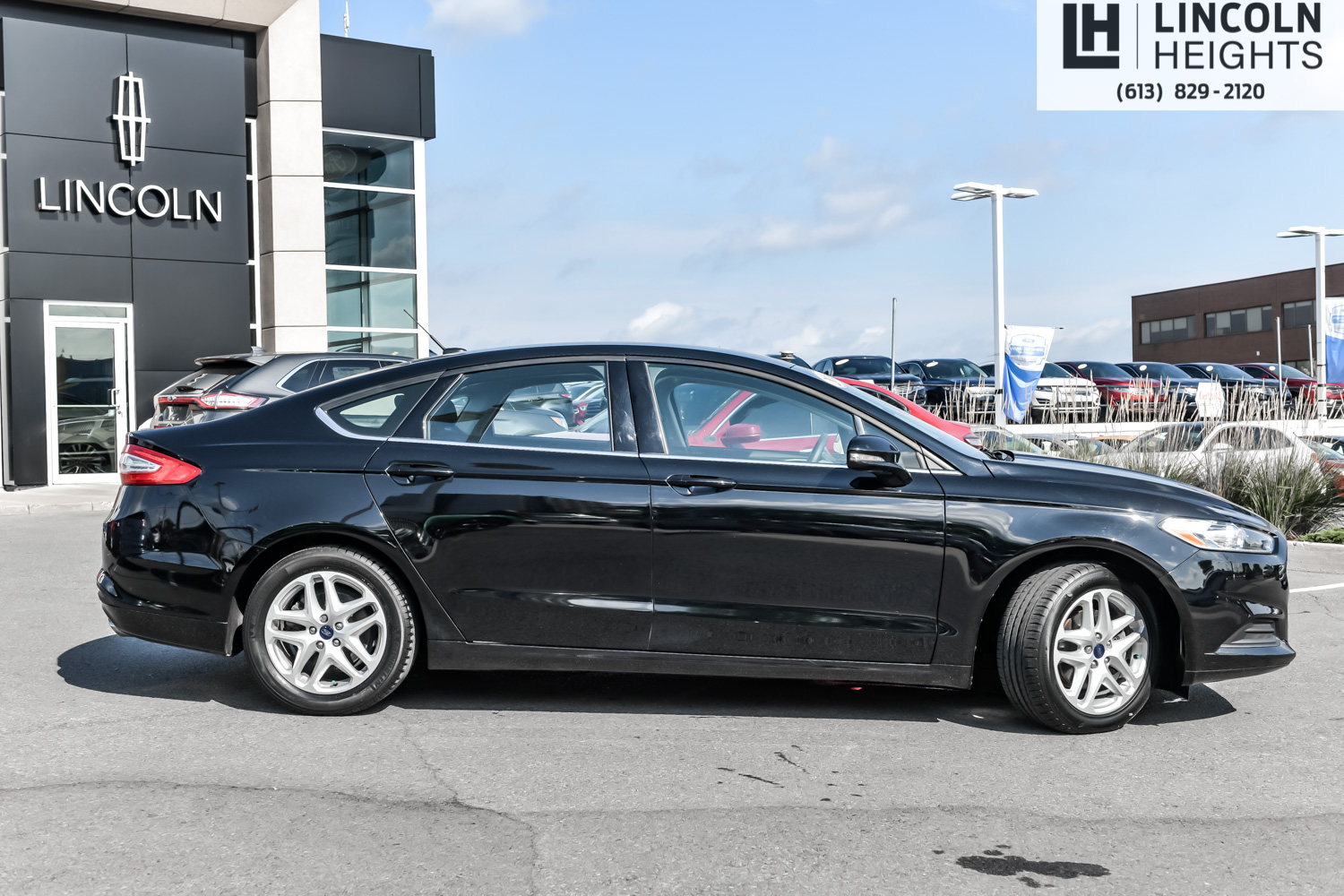 Ford Fusion: Heated windows and mirrors