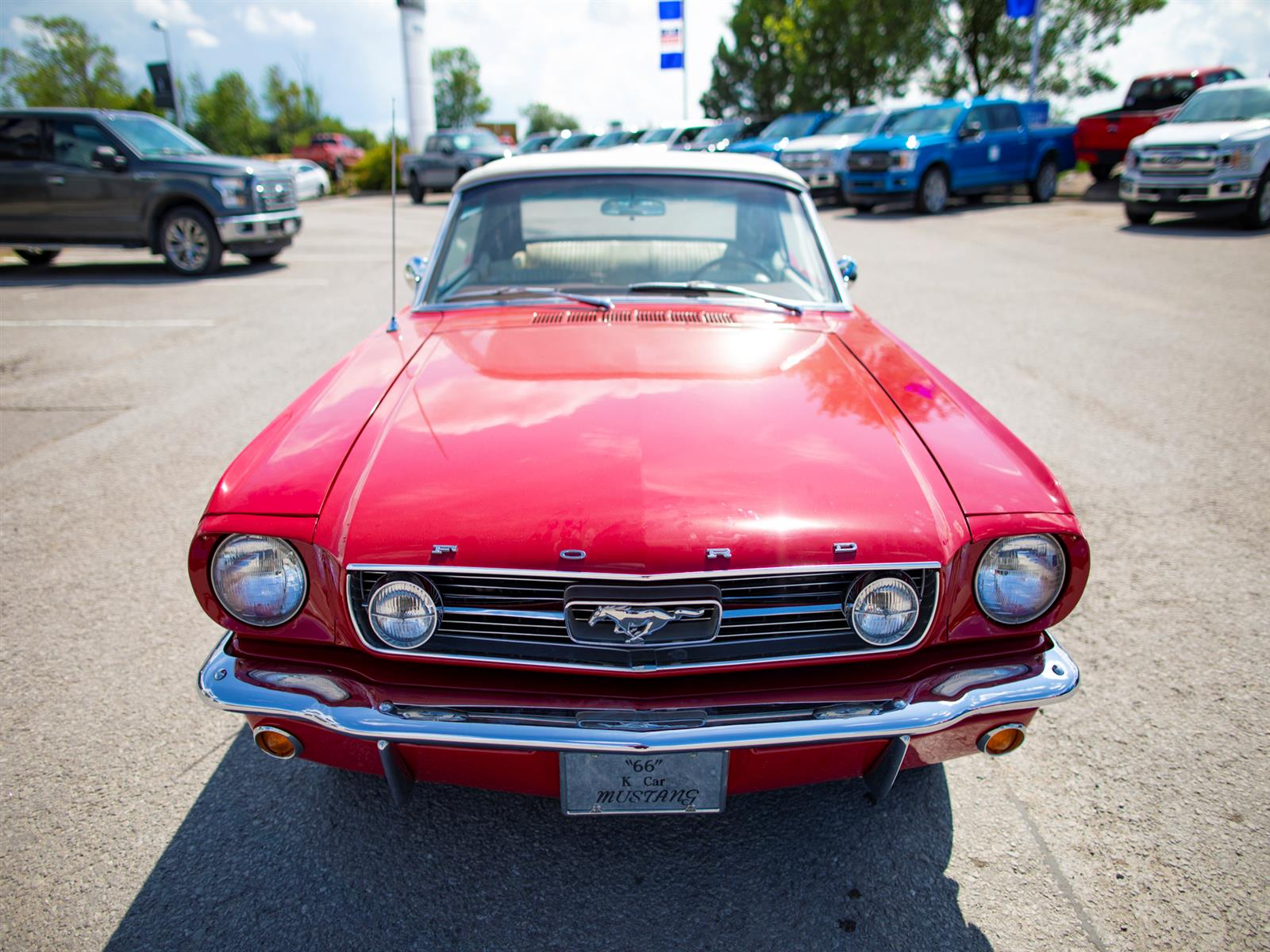1966 Ford Mustang Convertible GT
