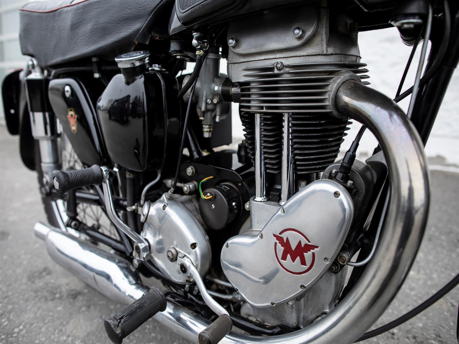 1952 Matchless 500 500 G80S
