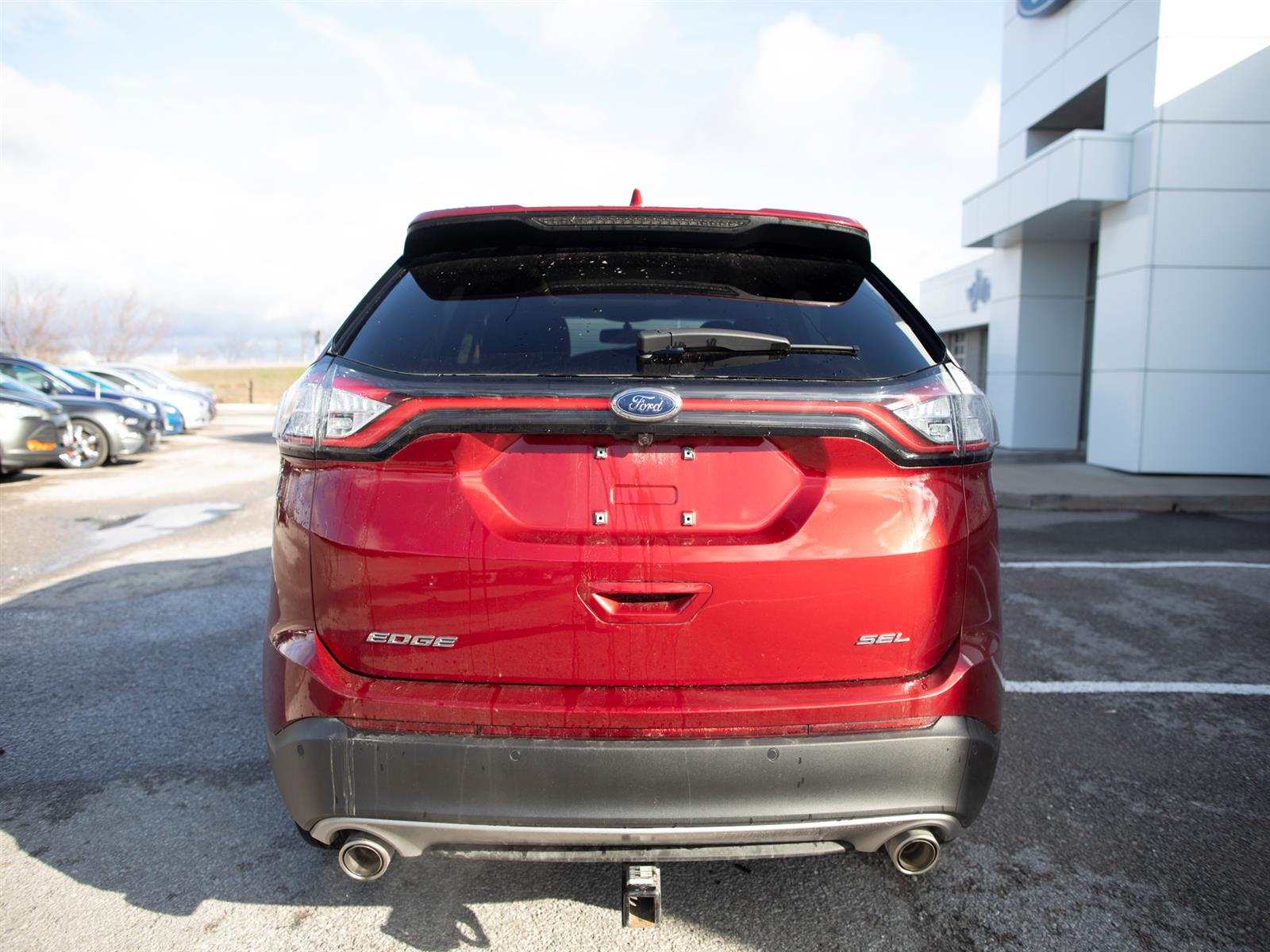 2018 Ford Edge SEL FWD