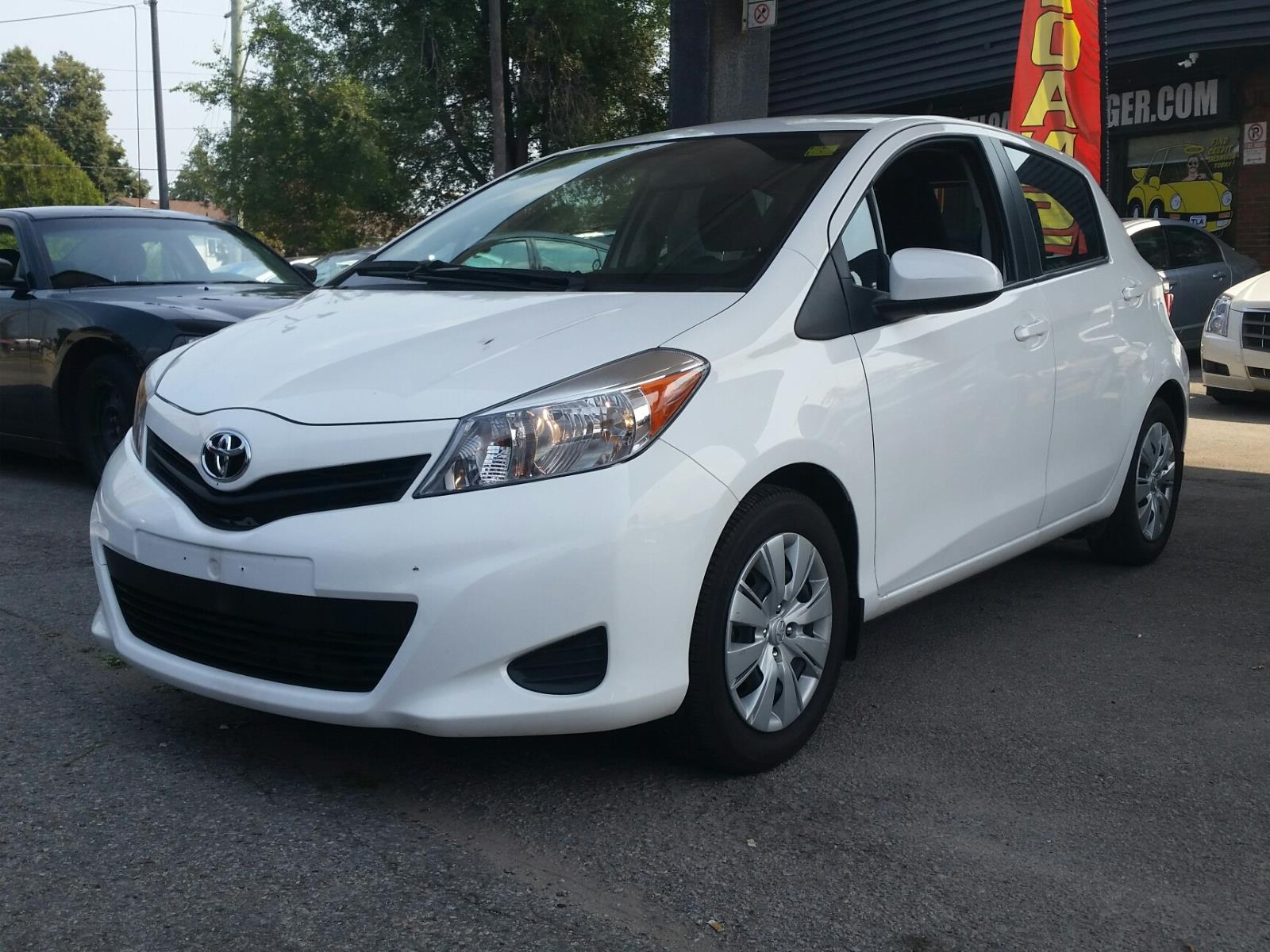 2014 Toyota Yaris The Loan Arranger Toronto