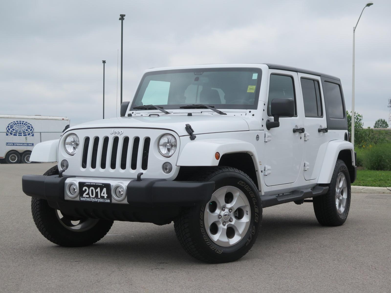 New 2014 Jeep Wrangler, $37405