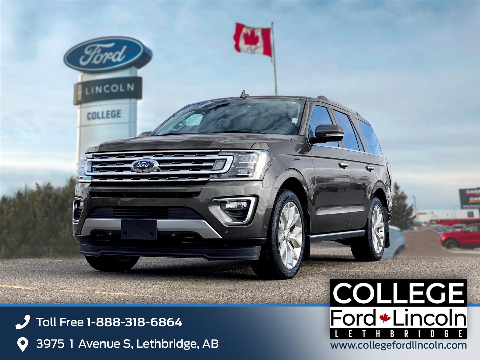 2018 Ford Expedition LIMITED
