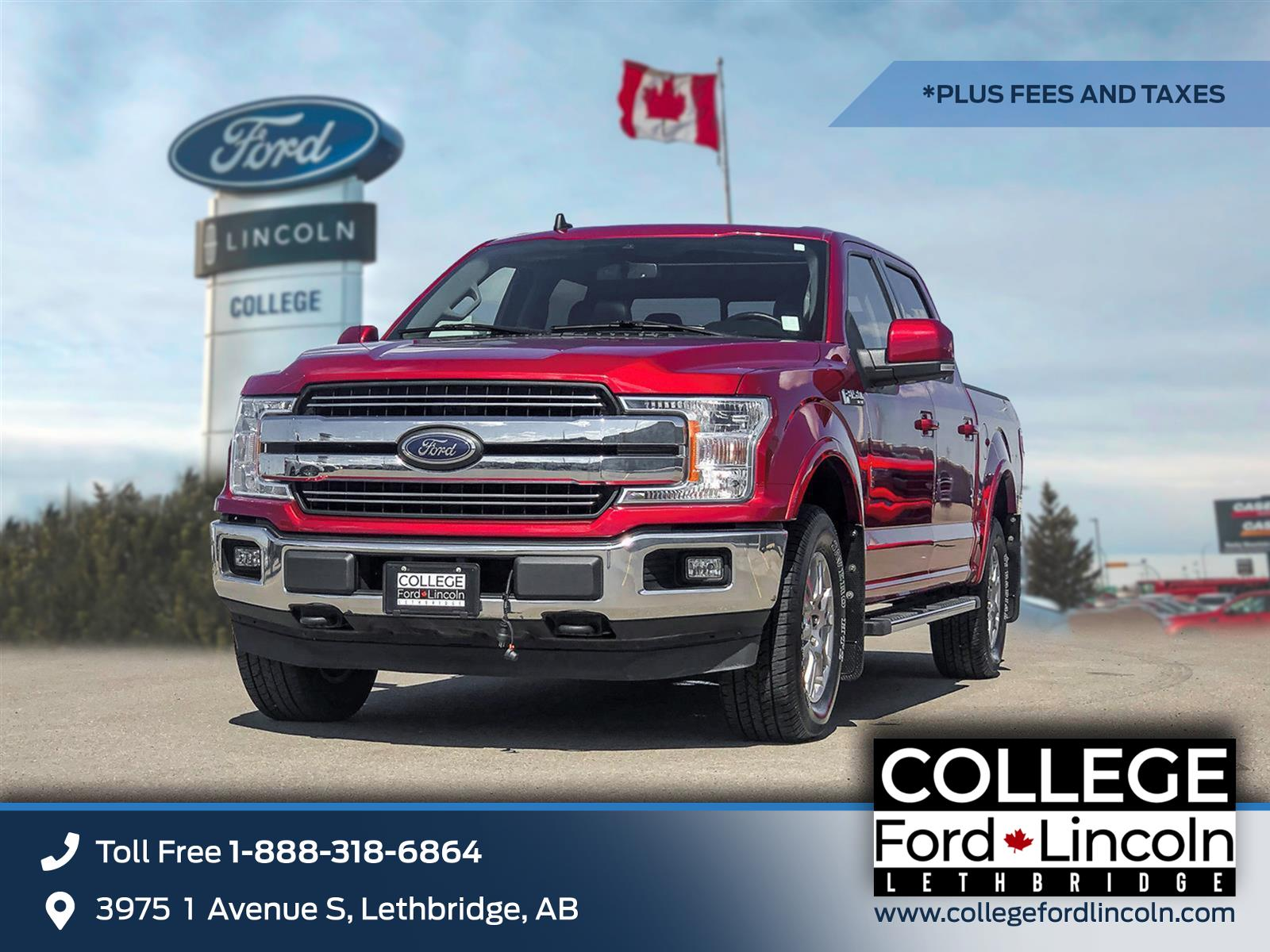 2019 Ford F-150 LARIAT | 2.7L ECOBOOST | 4X4 | TRAILER TOW PACKAGE | VOICE-ACTIV