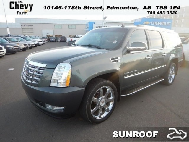 New 2011 Cadillac Escalade ESV, $49991