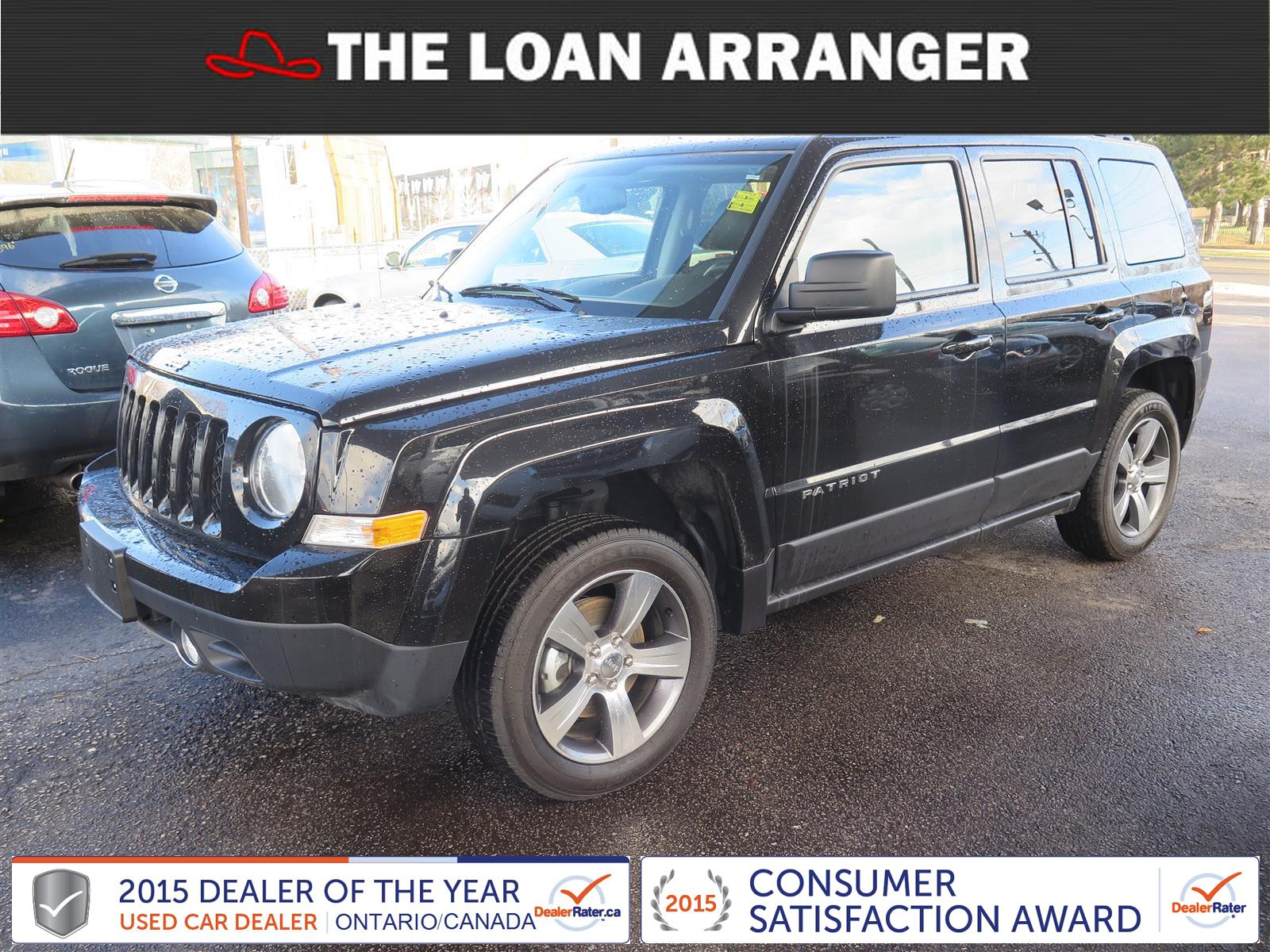 2016 Jeep Patriot The Loan Arranger Barrie