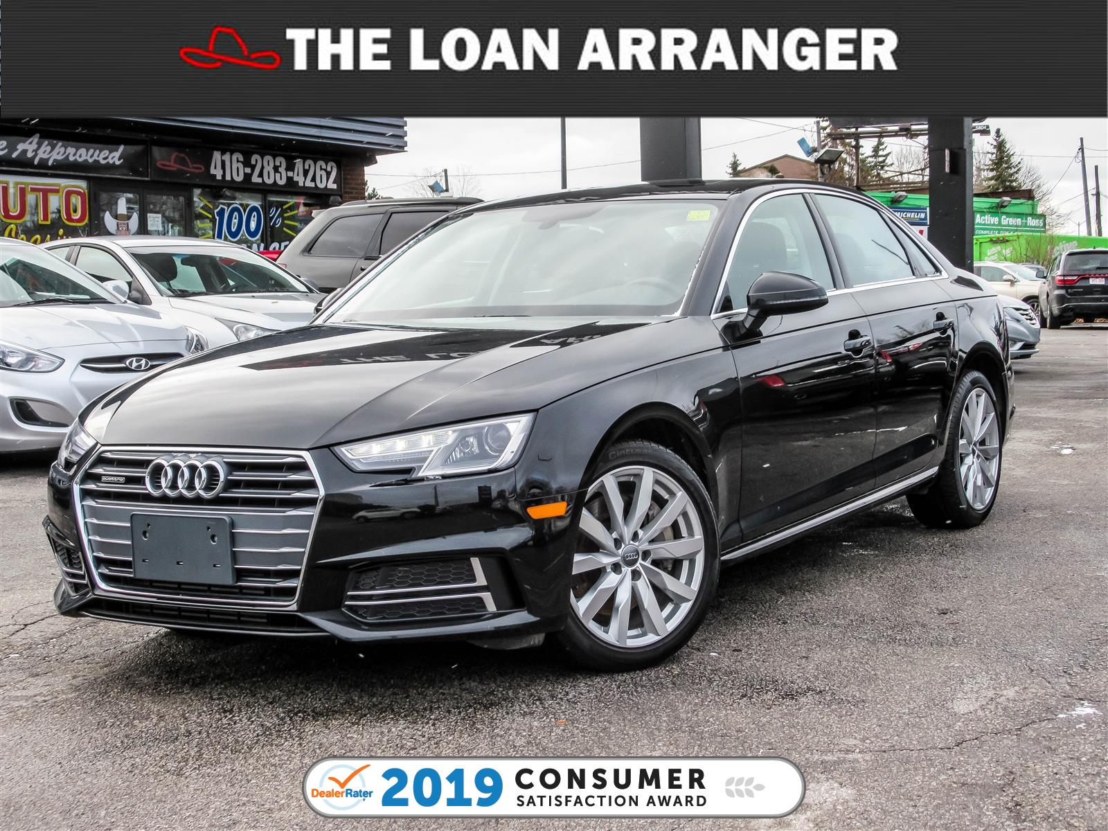 2018 Audi A4 The Loan Arranger Toronto
