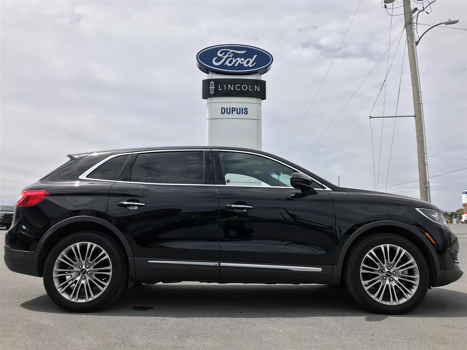 Lincoln Suv 2018 >> 2018 Lincoln Mkx Reserve Awd Black 3 7l V6 Dohc 24v