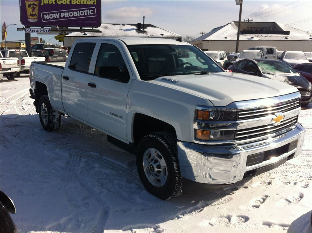 Used 2015 Chevrolet silverado 2500hd in Edmonton,AB
