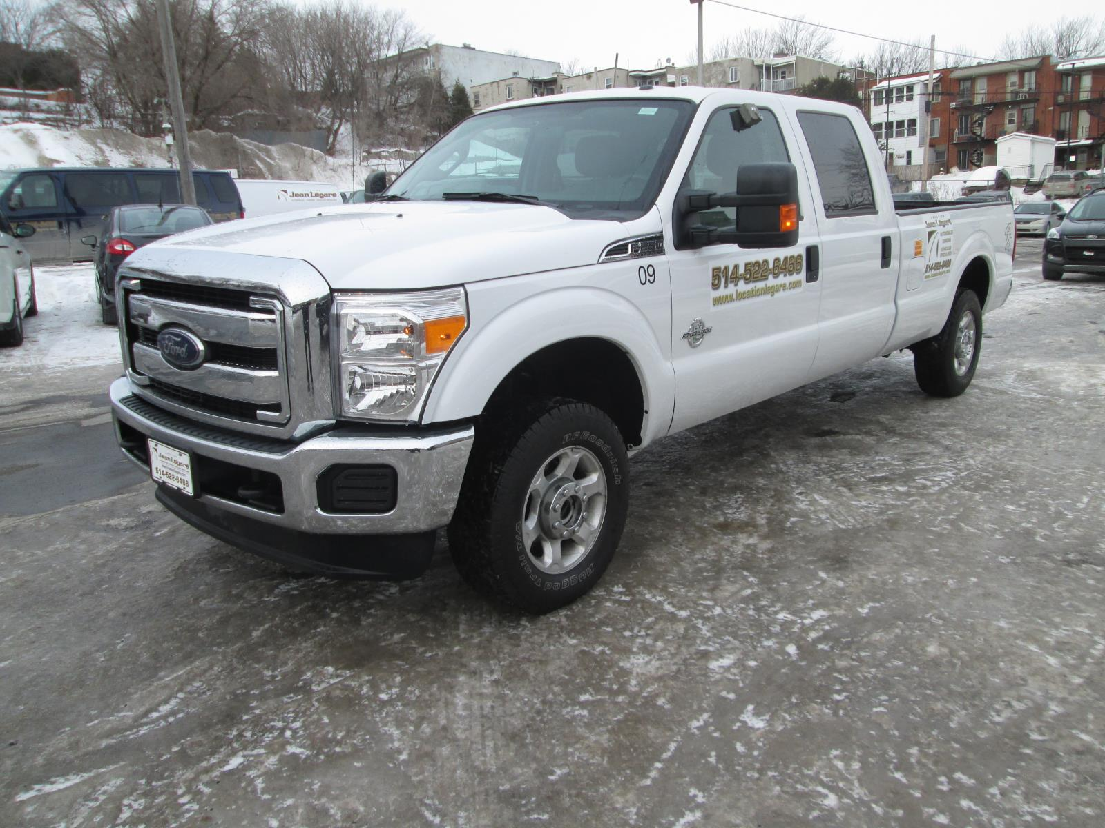 Ford  F-250 XL DIESEL BED 8PIEDS 2015