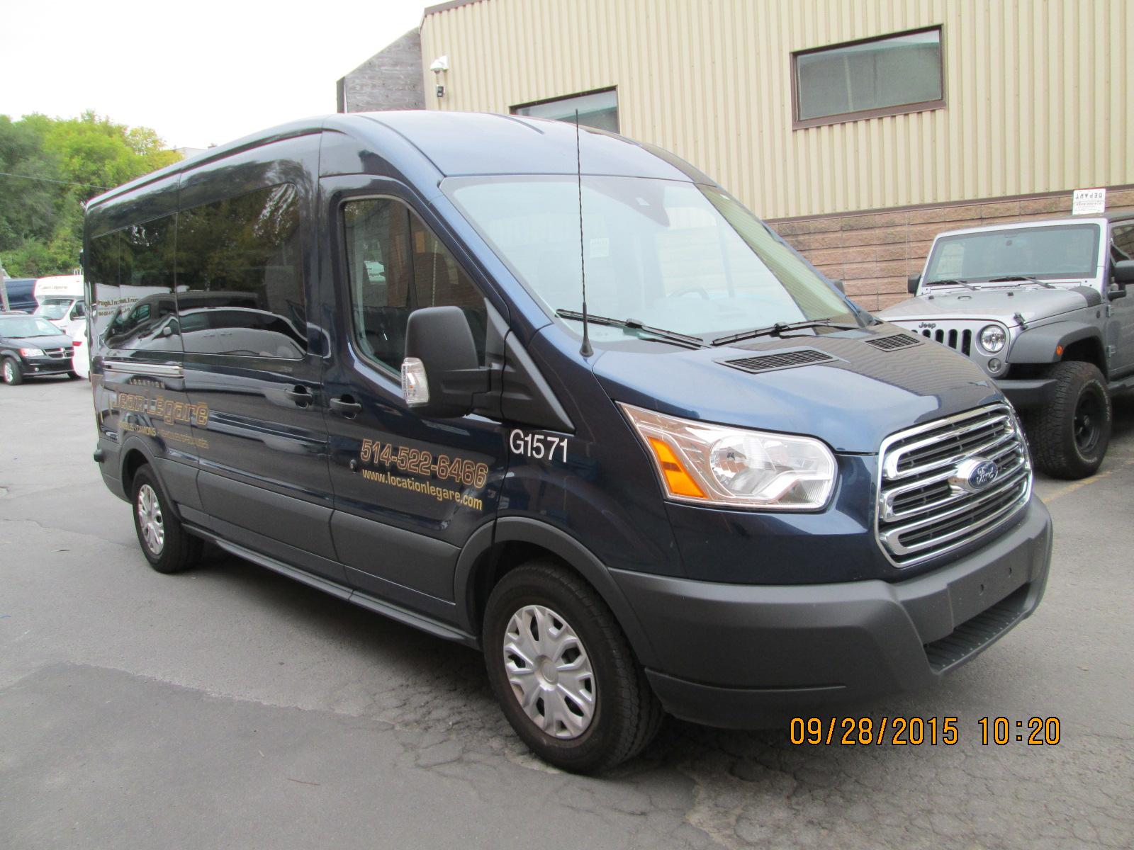 Ford  Transit MED ROOF 2015