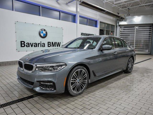 New 2018 BMW 540i xDrive Sedan Sedan in Edmonton 185S4525
