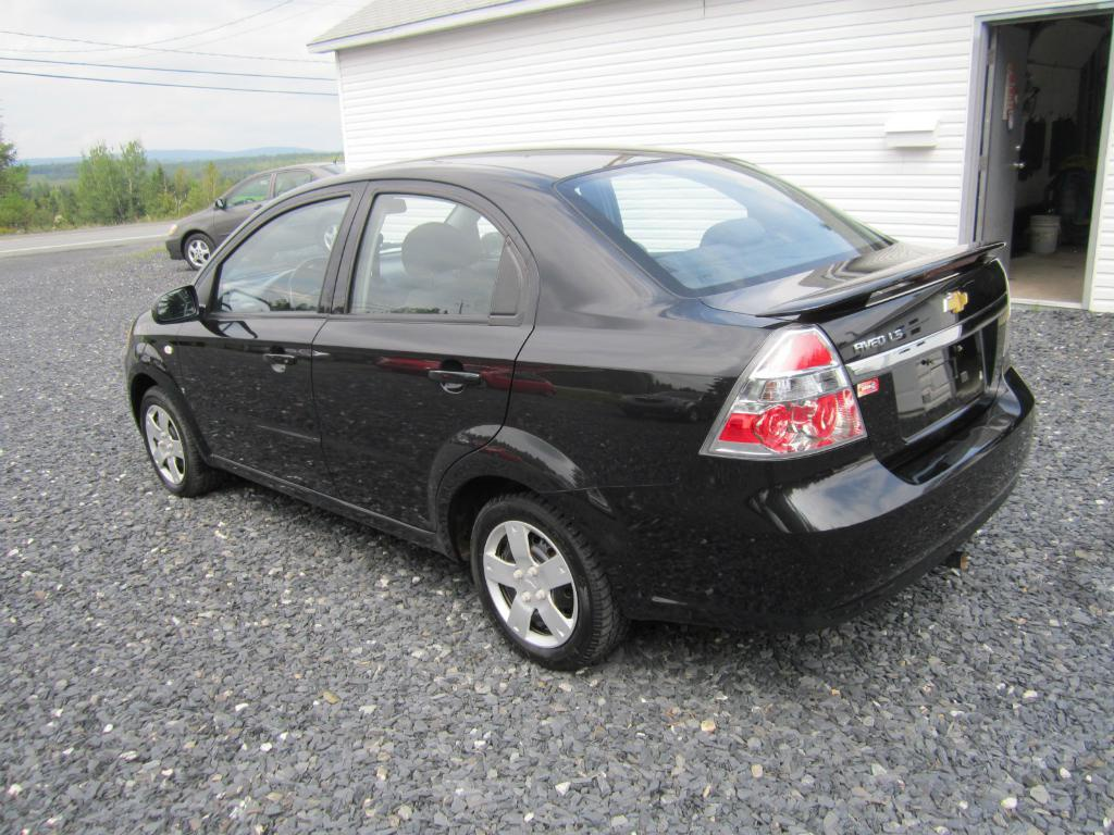 chevrolet aveo 2008 vendre saint prosper qc. Black Bedroom Furniture Sets. Home Design Ideas