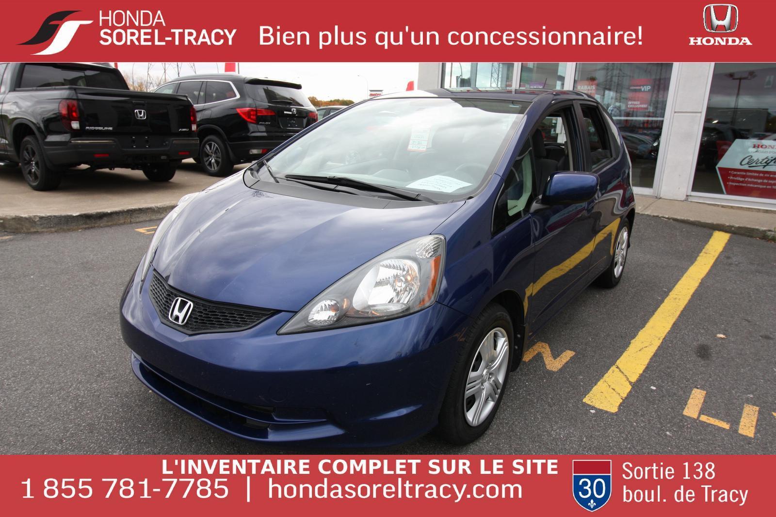 2013 Honda Fit LX $10,495