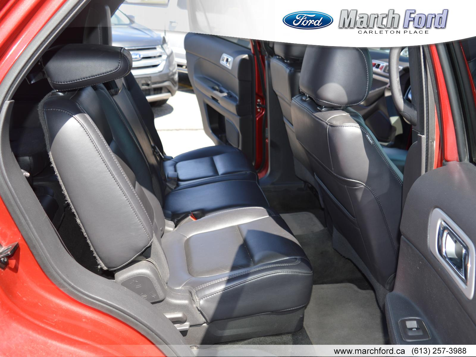 2012 ford explorer leather