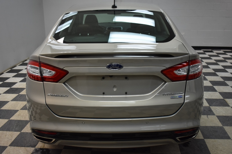 2015 Ford Fusion Titanium AWD- LEATHER * CRUISE * SUNROOF